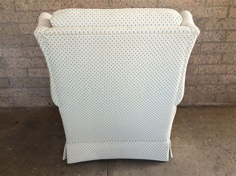 vintage ethan allen wingback chair
