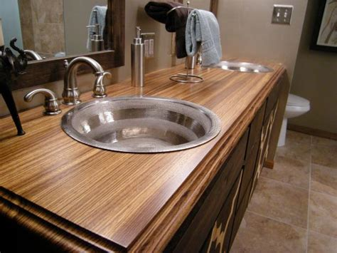 Bathroom Countertops And Sinks by Bathroom Countertop Material Options Hgtv