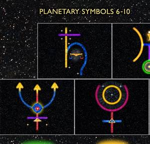 Planets Symbols (page 3) - Pics about space