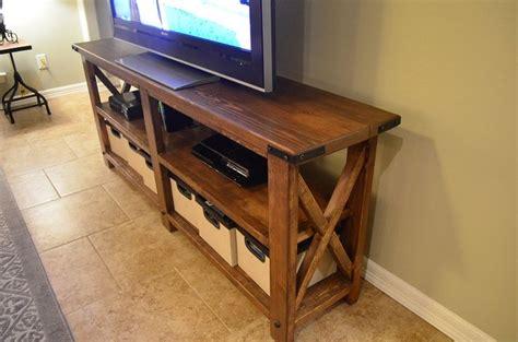 build your own tv lift custom diy big screen tv stand brett 39 s custom