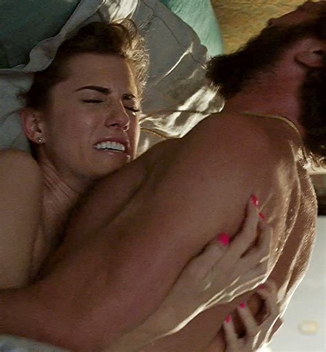 Allison Williams Moaning Loudly As Fucks In Girls Series