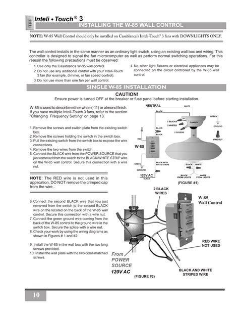 Avion Ceiling Fan Manual by Casablanca Intellitouch Wiring Diagram Casablanca Get