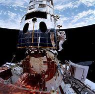 Hubble Space Telescope Mirror