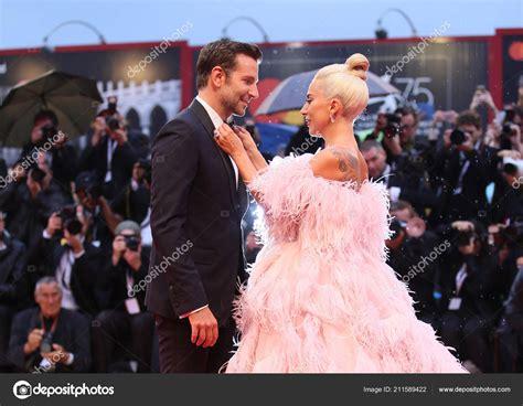Bradley Cooper Lady Gaga Walk Red Carpet Ahead Star Born