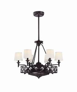 Top ceiling fan and chandelier warisan lighting