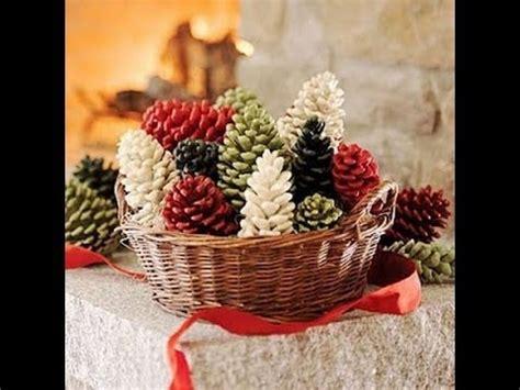 christmas pine cone decorations arts  crafts creative
