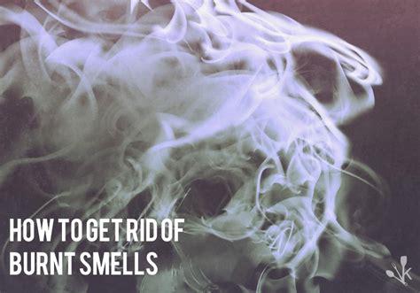 rid  burnt food smell kitchensanity