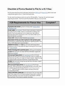 k 1visachecklist permanent residence united states With document checklist permanent residence