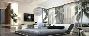 Schlafzimmer Ideen Weiß : 15 einzigartige schlafzimmer ideen in schwarz wei ~ Michelbontemps.com Haus und Dekorationen