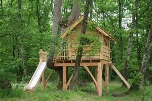 Cabane Exterieur Enfant : la cabane d 39 enfant du pin cabane dans les arbres ~ Melissatoandfro.com Idées de Décoration