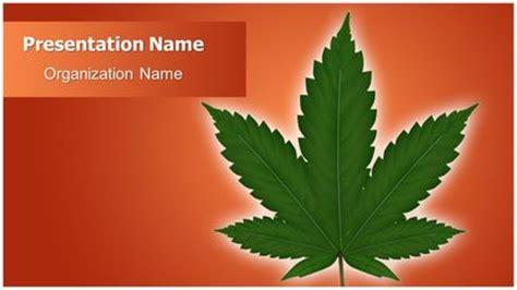 cannabis powerpoint template freetemplatestheme