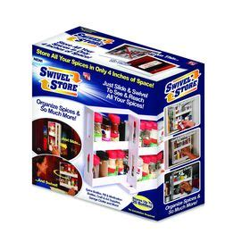 As Seen On Tv Spice Rack Reviews by As Seen On Tv Swivel Store Spice Rack Cool Stuff