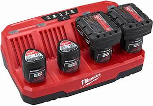 Hilti Cordless Light Milwaukee M12 4 Bay Battery Charger