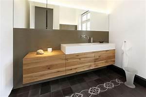 Bad Unterschrank Holz : altholz mir corian bad pinterest badezimmer waschtisch und bad ~ Frokenaadalensverden.com Haus und Dekorationen