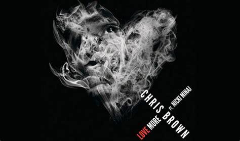 "News  Chris Brown Reveals ""love More"" Cover Art"