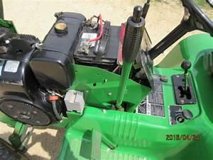 John Deere 112 Engine Swap