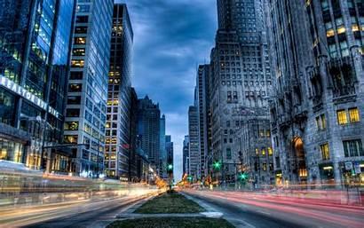 Street Desktop Usa Chicago Computer Wallpapers Skyscrape
