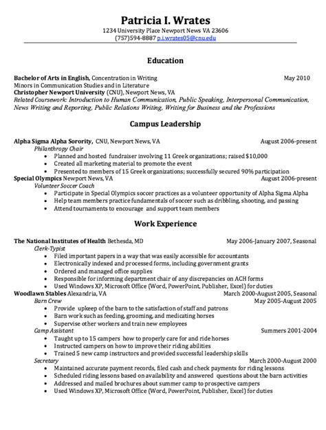 Typist Resume Format by Clerk Typist Resume Sle Resumes Design