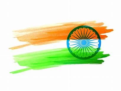 Flag Indian Vector Strokes Clipart Graphics Vectors