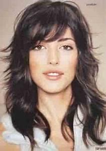 Coupe Cheveux Avec Frange : 1000 images about coupe longue femme on pinterest coupe coiffures and google ~ Nature-et-papiers.com Idées de Décoration