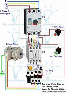 3 Phase Motor Starter Wiring Diagram Pdf Download