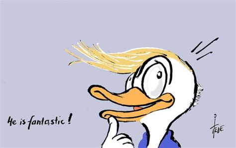 Donald - Donald Trump By tiede   Politics Cartoon   TOONPOOL