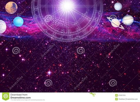 astrology background stock illustration illustration