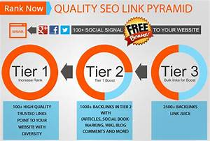 I Will Build High Quality Seo Pyramid With Tier 1  2 And 3 With 100  Bonus Social Signal For  5