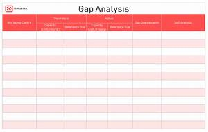 Excel Client Tracking Template Gap Analysis Template Free Samples Examples Word Excel