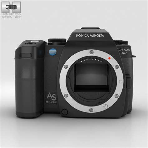konica models konica minolta maxxum dynax 5d 3d model hum3d