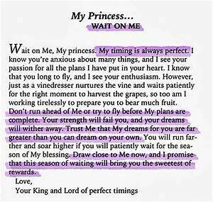 his princess quotes quotesgram With love letters from god to his princess