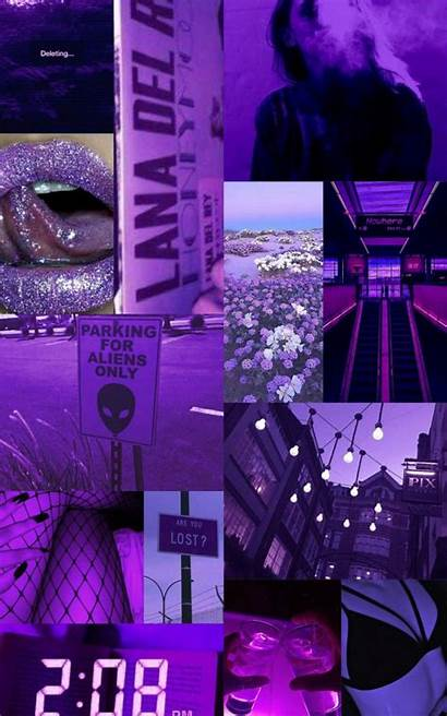 Collage Wallpapers Aesthetic Purple Background Aesthetics 2k