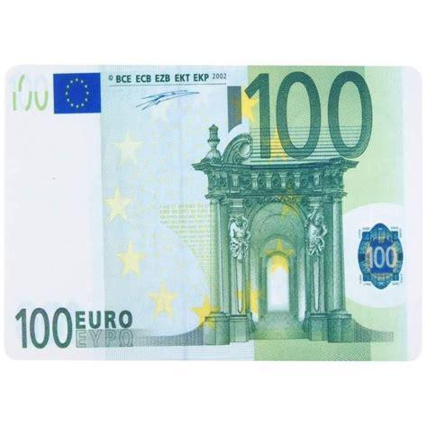 canap 100 euros tapis de souris forme billet de banque 100 euros prix
