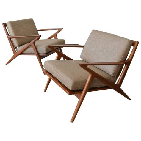 Selig Z Chair Dimensions by Pair Of Poul For Selig Z Chairs Circa 1960 At 1stdibs