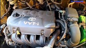 Toyota 2nz-fe Engine View