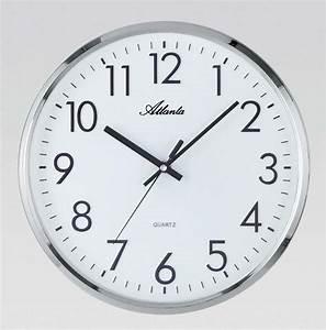 Atlanta, 4316, -, Wall, Clock, -, Quiet, Clock, -, Office, Clock