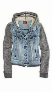 Denim hoodie | Shirts Jeans Shortsect. | Pinterest | Hoodie Jackets and Jean Jackets