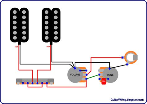 the guitar wiring diagrams and tips simple and popular volume tone guitar wiring