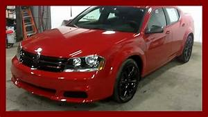 2013 Dodge Avenger Blacktop Red At Landry Auto Dodge Laval