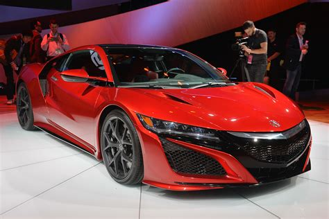 acura nsx is industry s first supercar with a female