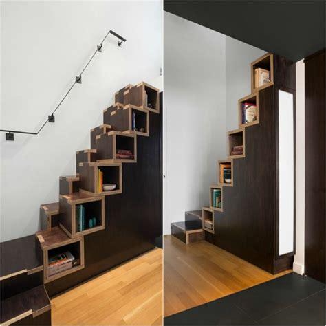 escalier gain de place premier pas vers amenagement petit