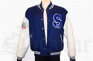 Sega sonic the hedgehog vintage varsity letterman jacket for Varsity letter man jacket