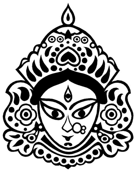Day 6 - Durga Maa Crafts - Artsy Craftsy Mom