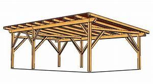 Batiment En Kit Bois : plan hangar bois monopente bw33 jornalagora ~ Premium-room.com Idées de Décoration