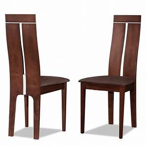 Chaise De Salon Design : chaise bois salon chaise topkoo ~ Teatrodelosmanantiales.com Idées de Décoration