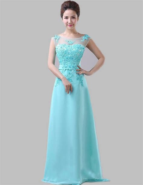 wholesale cheap bridesmaid dresses   mint blue