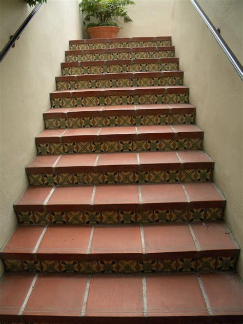 staircase riser tiles biltmore diane s pattern