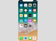 List of screen icons Apple iPhone X iOS 111 Telstra