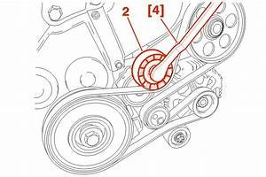 Turn The Tensioner Roller  2  Using The Tool  4