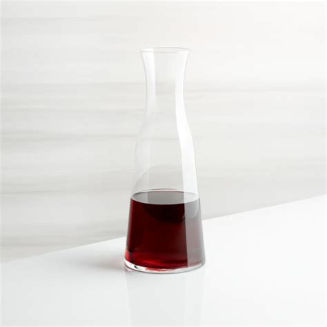 everyday wine carafe reviews crate  barrel